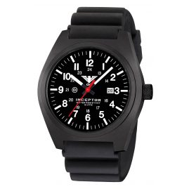 KHS INCBS.DB Men's Wristwatch Inceptor Black Steel