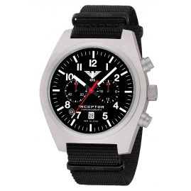 KHS KHS.INCSC.NB Men´s Watch Inceptor Steel Chronograph