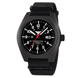 KHS KHS.INCBSA.NB Men´s Wristwatch Inceptor Black Steel Automatic