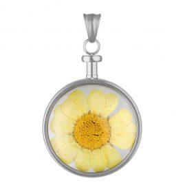 Blumenkind BL01MSSGE Blumen-Anhänger Gelb
