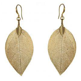 Blumenkind BLE03SGO Ladies Earrings Leaves