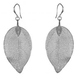 Blumenkind BLE03SSS Damen-Ohrringe Blätter