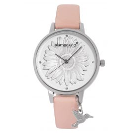 Blumenkind 04091981SWHPRO Ladies' Wristwatch Silver/Cherry Blossom