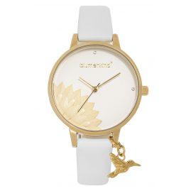 Blumenkind 13121989GWHPWH Ladies' Wristwatch Pennsylvania Gold/White