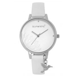 Blumenkind 13121989SWHPWH Damenarmbanduhr Pennsylvania Silber/Weiß