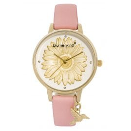 Blumenkind 04091981GWHPRO Damenarmbanduhr Goldfarben/Rosa