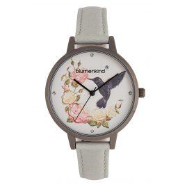 Blumenkind 15081969GRWHPGR Damen-Armbanduhr Woodstock Grau/Hellgrau