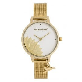 Blumenkind 13121989GWHSSGO Ladies´ Watch Pennsylvania Gold-Tone