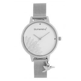 Blumenkind 13121989SWHSS Ladies´ Wristwatch Pennsylvania with Mesh-Bracelet