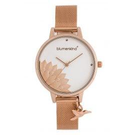 Blumenkind 13121989RWHSSRO Damenuhr Pennsylvania mit Milanaise-Armband