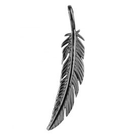 Traumfänger TF03SGR Pendant Feather Grey S