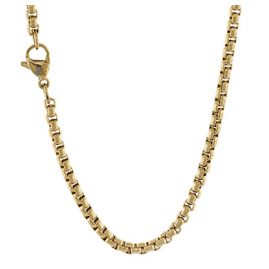 Traumfänger SC063G Edelstahl Damen-Halskette Gold