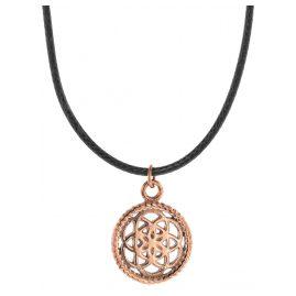 Traumfänger TFP02ROBK Damen-Halskette Petit schwarz/rosé