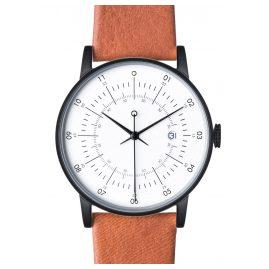 Squarestreet PS-12 Armbanduhr mit Rentier-Lederband Plano
