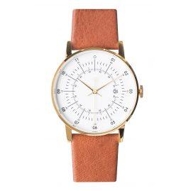 Squarestreet PS-33 Armbanduhr mit Rentier-Lederband Plano