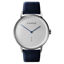 Kanske Denmark 302 Armbanduhr Sincere Silberfarben/Blau