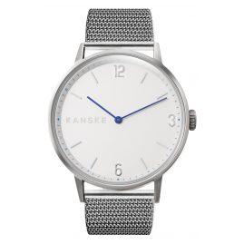 Kanske Denmark 331 Armbanduhr Sincere Matt Silberfarben