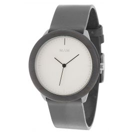 MAM Originals 66 Herrenarmbanduhr Stainless Light Maple Graphite