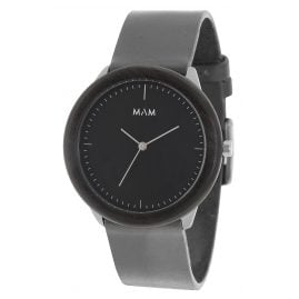 MAM Originals 75 Herrenuhr Stainless Dark Ebony Graphite
