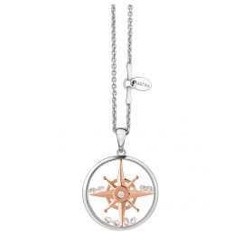 Astra PA5417-ROCZ Ladies Necklace Compass Star