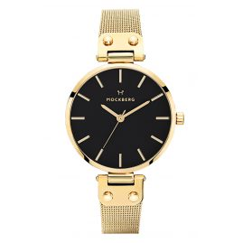 Mockberg MO1603 Damen-Armbanduhr Livia Noir