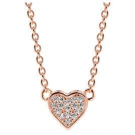 Sif Jakobs Jewellery SJ-C2185-CZ(RG) Herz-Anhänger Halskette Amore Uno Rosé