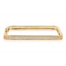 Sif Jakobs Jewellery SJ-BG1064-CZ(YG) Damen-Armreif Matera Silber Vergoldet