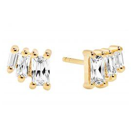 Sif Jakobs Jewellery SJ-E1045-CZ(YG) Ohrringe Antella Tre