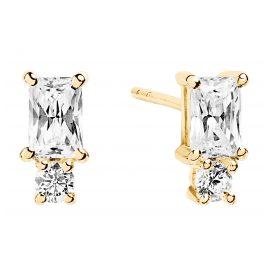 Sif Jakobs Jewellery SJ-E1299-CZ(YG) Ohrringe Antella Piccolo Gold