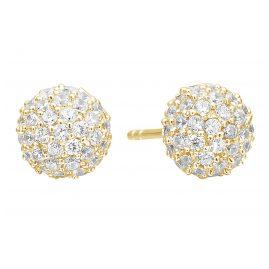 Sif Jakobs Jewellery SJ-E2104-CZ(YG) Ohrringe Bobbio
