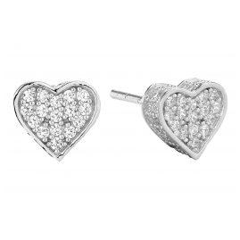 Sif Jakobs Jewellery SJ-E2185-CZ Herz-Ohrringe Amore