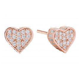 Sif Jakobs Jewellery SJ-E2185-CZ(RG) Herz-Ohrringe Amore Rosé