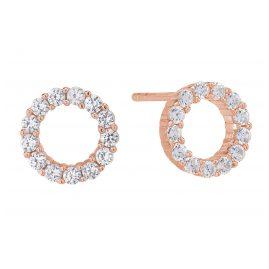 Sif Jakobs Jewellery SJ-E337-CZ(RG) Ohrringe Biella Uno Piccolo Rosé