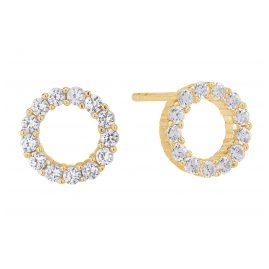 Sif Jakobs Jewellery SJ-E337-CZ(YG) Ohrringe Biella Uno Piccolo