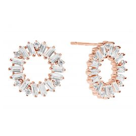 Sif Jakobs Jewellery SJ-E0324-CZ(RG) Ohrringe Antella Circolo Rosé