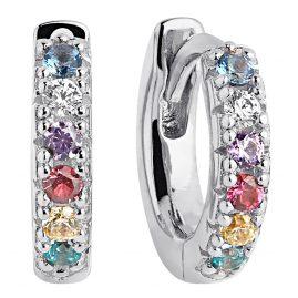 Sif Jakobs Jewellery SJ-E1066-XCZ Hoop Earrings Ellera Piccolo