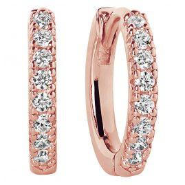 Sif Jakobs Jewellery SJ-E2859-CZ-(RG) Ohrringe Creolen Ellera
