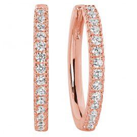 Sif Jakobs Jewellery SJ-E2869-CZ(RG) Ohrringe Creolen Ellera Grande