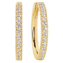 Sif Jakobs Jewellery SJ-E2869-CZ(YG) Ohrringe Creolen Ellera Grande