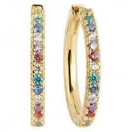 Sif Jakobs Jewellery SJ-E2869-XCZ(YG) Ohrringe Creolen Ellera Grande