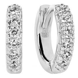 Sif Jakobs Jewellery SJ-E1066-CZ Hoop Earrings Ellera Piccolo
