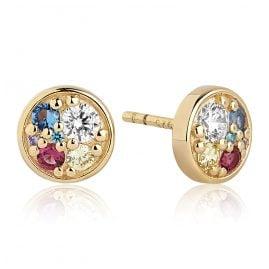 Sif Jakobs Jewellery SJ-E1055-XCZ(YG) Damen-Ohrstecker Novara Piccolo