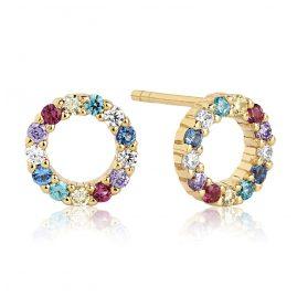 Sif Jakobs Jewellery SJ-E337-XCZ(YG) Damenohrstecker Biella Uno Piccolo
