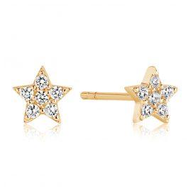 Sif Jakobs Jewellery SJ-E2947-CZ(YG) Silber Damenohrringe Mira Vergoldet
