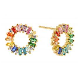 Sif Jakobs Jewellery SJ-E0324-XCZ(YG) Women's Earrings Antella Circolo