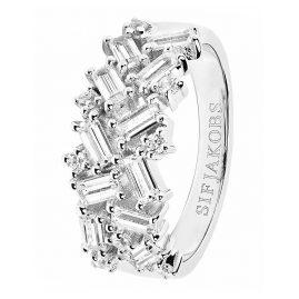 Sif Jakobs Jewellery SJ-R0463-CZ Damenring Antella Silber