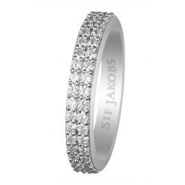 Sif Jakobs Jewellery SJ-R10762-CZ Damenring Corte Due