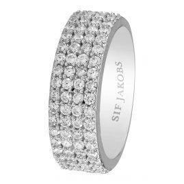 Sif Jakobs Jewellery SJ-R10764-CZ Damenring Corte Quattro