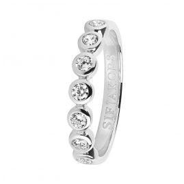 Sif Jakobs Jewellery SJ-R11186-CZ Silber Damenring Sardinien Sette