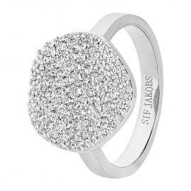 Sif Jakobs Jewellery SJ-R2059-CZ Damenring Monterosso Silber